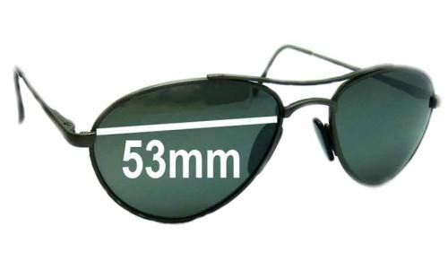 Arnette Vintage Aviators Replacement Sunglass Lenses - 53mm Wide