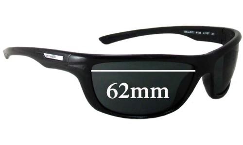 Arnette Walleye AN4145 Replacement Sunglass Lenses - 62mm Wide