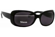 Banana Republic Allison Replacement Sunglass Lenses - 58mm Wide