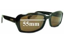 Bill Bass Calista 55-17-135 25304 Replacement Sunglass Lenses - 55mm wide