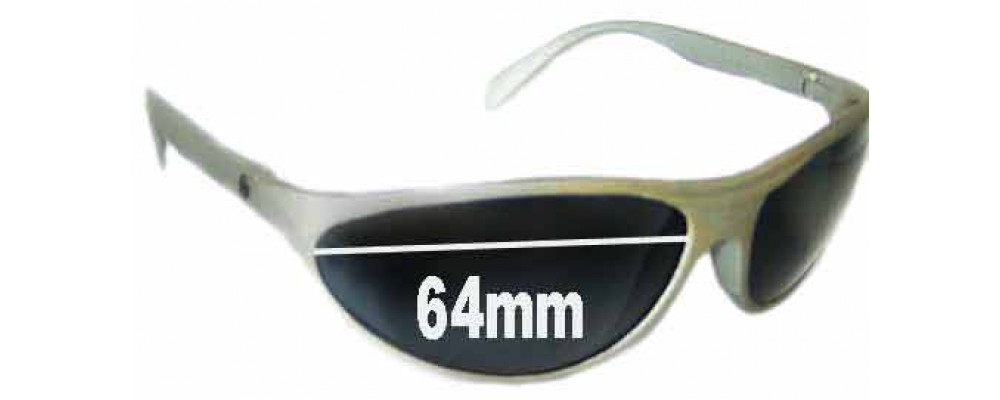 07f8b7ec0e Bolle Anaconda Older Style Egg Shapped Replacement Sunglass Lenses - 64mm  Wide