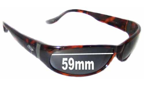 Bolle Canebrake Replacement Sunglass Lenses - 59mm wide