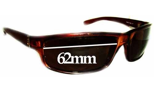 Bolle Dirty 8 Replacement Sunglass Lenses - 62mm Wide
