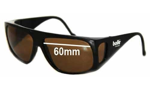 Bolle Fishing Replacement Sunglass Lenses - 60mm Wide