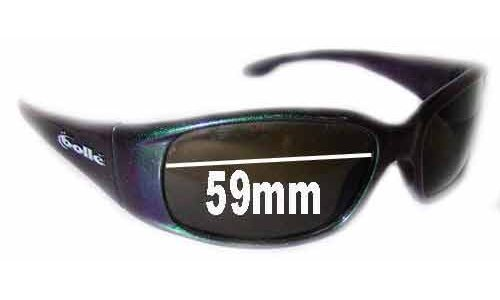 Bolle Habu Replacement Sunglass Lenses - 59mm wide