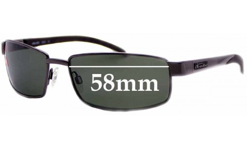Bolle JWalker Replacement Sunglass Lenses - 58mm Wide