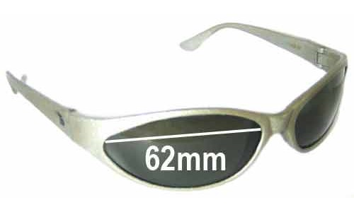 Bolle Mamba Replacement Sunglass Lenses 62mm wide