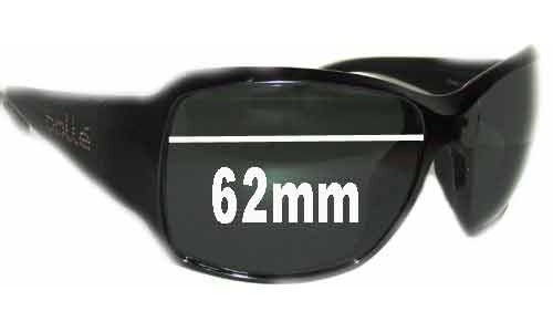 Bolle Queen Replacement Sunglass Lenses 62mm wide
