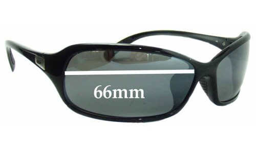 Bolle Serpent Replacement Sunglass Lenses - 66mm wide