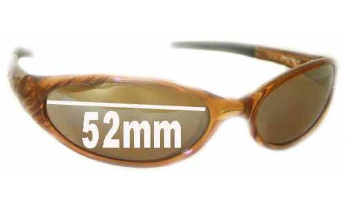 Bolle Sizzle Replacement Sunglass Lenses - 52mm Wide