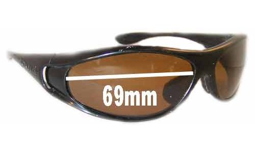 Bolle Spiral Replacement Sunglass Lenses - 69mm Wide