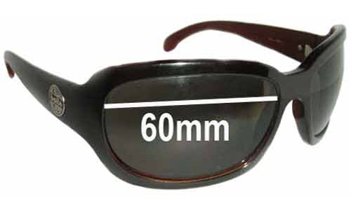 Bolle Tease Replacement Sunglass Lenses - 60mm wide