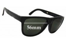 Burberry B 4106 Folding Wayfarer Replacement Sunglass Lenses - 56mm Wide