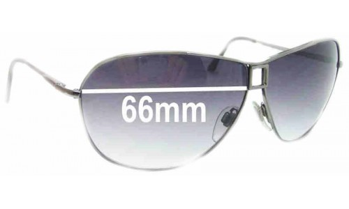 Bvlgari 551 Replacement Sunglass Lenses - 66mm wide