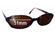 Sunglass Fix New Replacement Lenses for Calvin Klein CK4015 - 51mm Wide