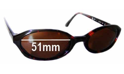 Calvin Klein 4015 Replacement Sunglass Lenses - 51mm wide