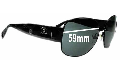 Chanel 4174 Replacement Sunglass Lenses - 59mm wide