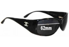 Chanel 5087H Replacement Sunglass Lenses - 62mm wide