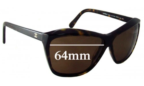 Chanel 5153 Replacement Sunglass Lenses - 64mm wide