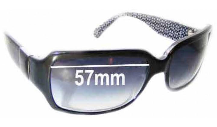 SFX Replacement Sunglass Lenses fits Coach Delphine 57mm Wide