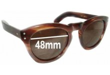 Sunglass Fix New Replacement Lenses for Cutler and Gross 1002 - 48mm Wide