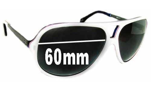 Dolce & Gabbana DG3065 Replacement Sunglass Lenses - 60mm Wide