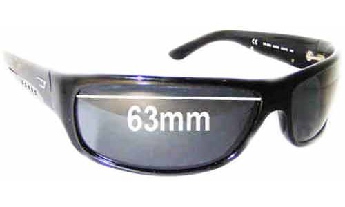 Diesel DS 0006 Replacement Sunglass Lenses - 63mm wide