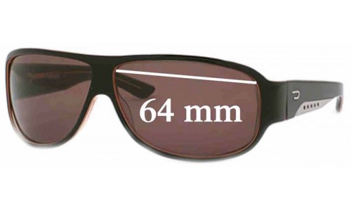 Diesel DS0007 Replacement Sunglass Lenses - 64mm wide