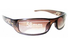 Diesel Ancestor II Replacement Sunglass Lenses - 58mm wide