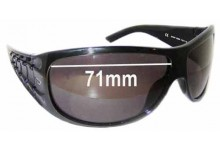 Diesel DS0057 Replacement Sunglass Lenses - 71mm wide