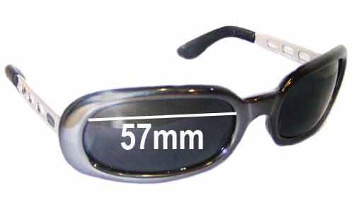 Diesel Striplight Replacement Sunglass Lenses - 57mm wide
