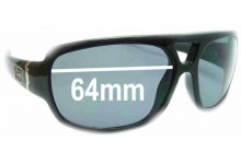 Dirty Dog Buick Replacement Sunglass Lenses - 64mm