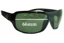 Dirty Dog Hammer Replacement Sunglass Lenses - 66MM wide