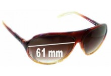 Dirty Dog Hoodwink Replacement Sunglass Lenses - 61mm wide