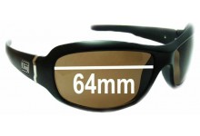 Dirty Dog Stardust Replacement Sunglass Lenses - 64mm