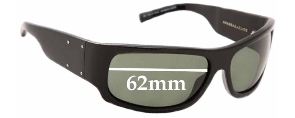 Dolce & Gabbana DG4034 Replacement Sunglass Lenses - 62mm wide