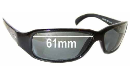 Dolce & Gabbana DG2075 or DD2075 Replacement Sunglass Lenses - 61mm wide