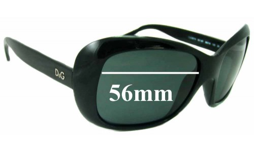 Dolce & Gabbana DG8074 New Sunglass Lenses - 56mm wide