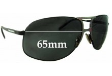 Dolce & Gabbana DG2023 Replacement Sunglass Lenses- 65mm Wide