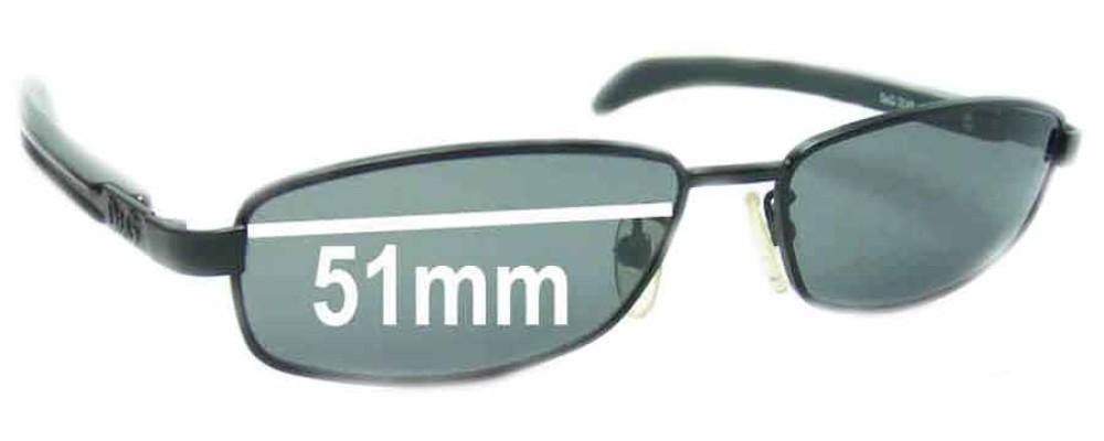 Dolce & Gabbana DG2048 Replacement Sunglass Lenses - 51mm wide