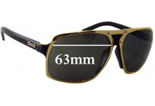 Dolce & Gabbana D&G 6050 Replacement Sunglass Lenses - 63mm Wide