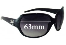 Sunglass Fix New Replacement Lenses for Dolce & Gabbana DG8018 - 63mm Wide