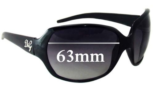 Sunglass Fix Replacement Lenses for Dolce & Gabbana DG8018 - 63mm Wide