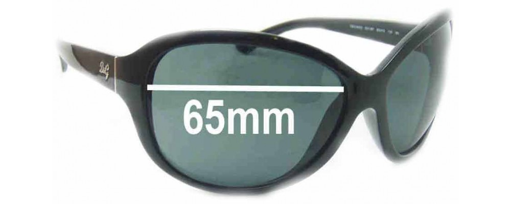 Dolce & Gabbana DG8053 Replacement Sunglass Lenses - 65mm wide
