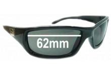 Sunglass Fix New Replacement Lenses for Dragon Chrome - 62mm Wide