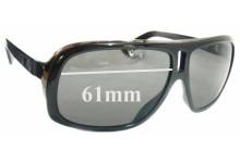 Dragon GG New Sunglass Lenses - 61mm wide