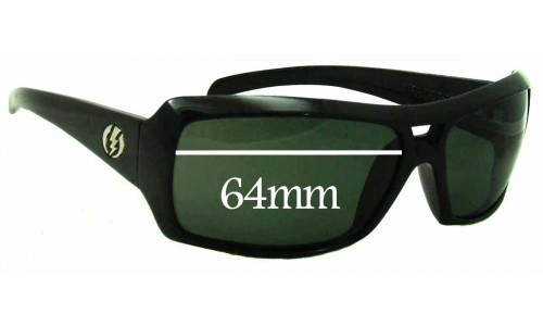 Electric BSG Replacement Sunglass Lenses - 64mm Wide