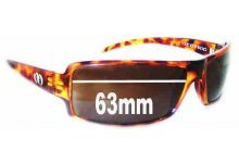 Electric EC/DC Replacement Sunglass Lenses - 63mm wide