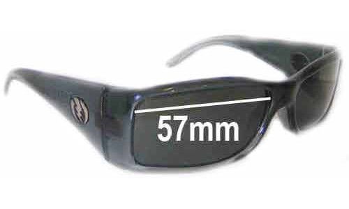 Electric HI FI Replacement Sunglass Lenses - 57mm Wide