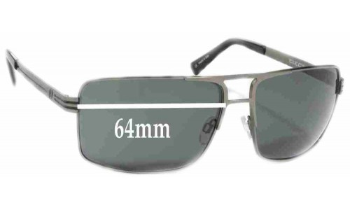 Electric OHM II Replacement Sunglass Lenses - 64mm Wide